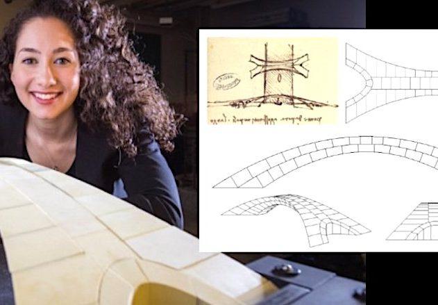 pont de vinci vieux 500 ans realisable etude mit
