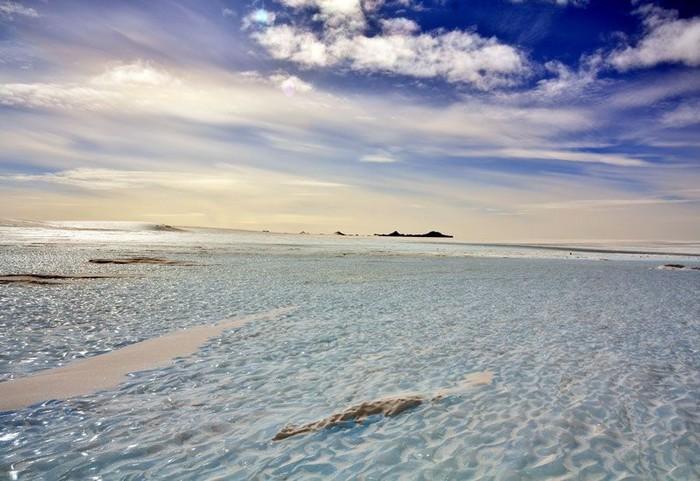 antarcique glace carotte gaz atmosphere co2
