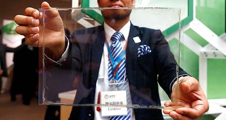 batterie transparente fenetre NTT
