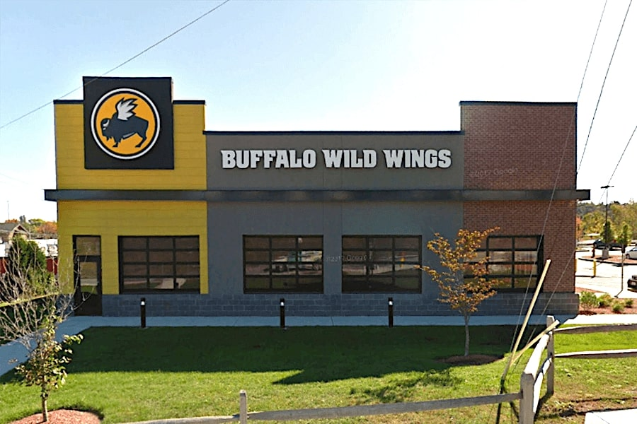 buffalo wild wings lieu accident chimique