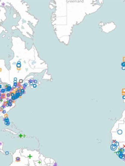 degats mouvements anti-vaccination carte