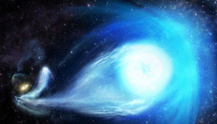 etoile centre galactique trou noir supermassif