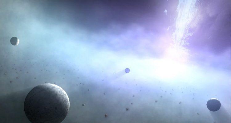 planetes trous noirs