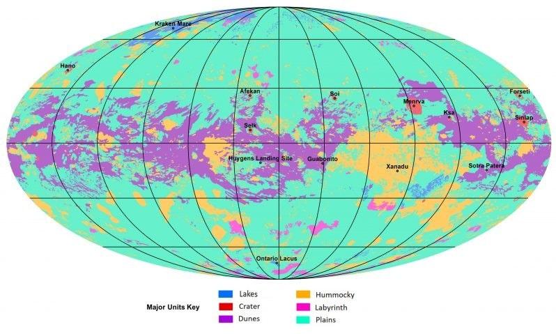 planisphere titan
