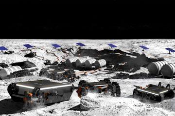 robots mineurs exploitation mines lune systeme solaire offworld
