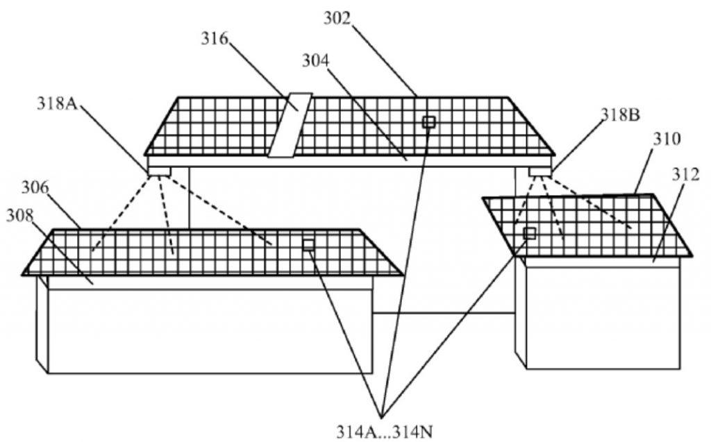 tesla systeme laser elimination saletes panneaux solaires schema technique brevet