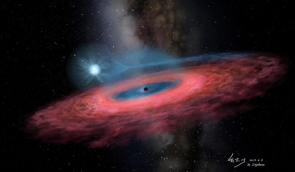 trou noir binaire