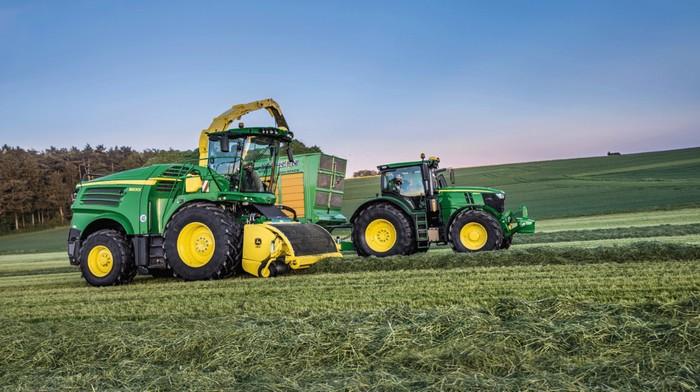 John Deere agriculture innovation scientifique technologique