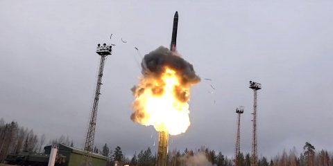 arme hypersonique avangard russie