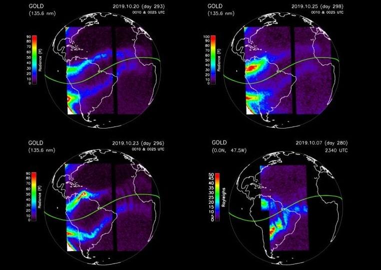 changements ionosphere
