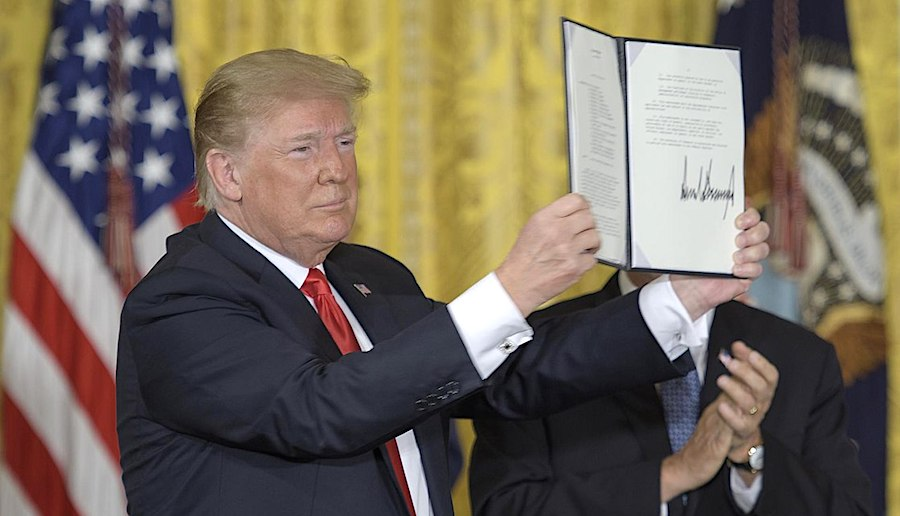 donald trump directive signee juin 2018 space force