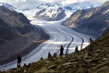glacier suisse rechauffement changement climatique climat