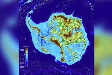 terres profondes antarctique carte