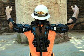 travailleur exosquelette eksobionics