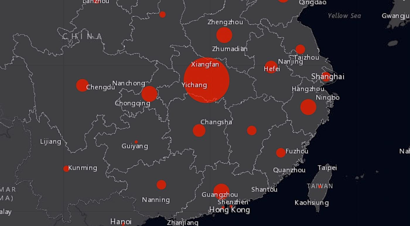 2019-nCov: doublement des infections pour le coronavirus chinois