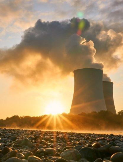 centrale nucleaire tour refroidissement