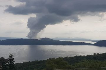 eruption taal