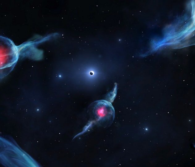 objet g trou noir centre galactique galaxie trou noir supermassif