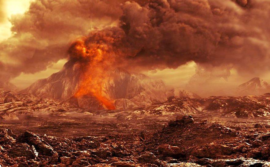 venus volcans actifs preuves
