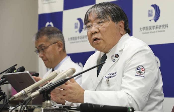 yoshiki sawa transplantation tissu cardiaque coeur