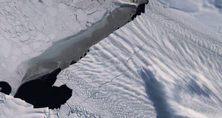 glacier antarctique