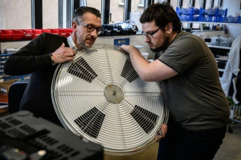 moteur photovoltaique