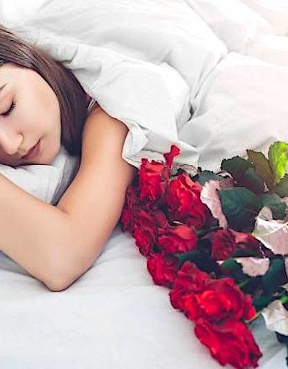 odeur rose ameliore sommeil