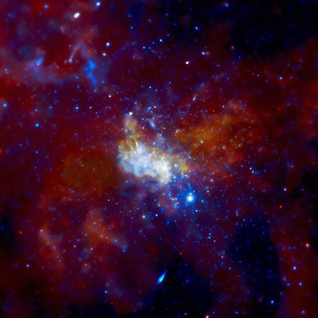 photo SagittariusA télescope Chandra