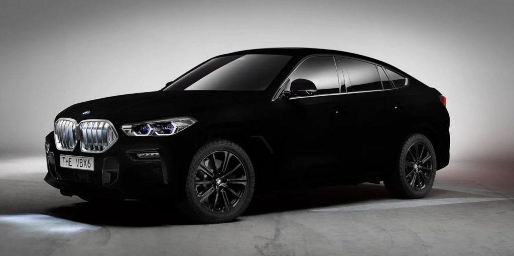 modèle BMW vantablack