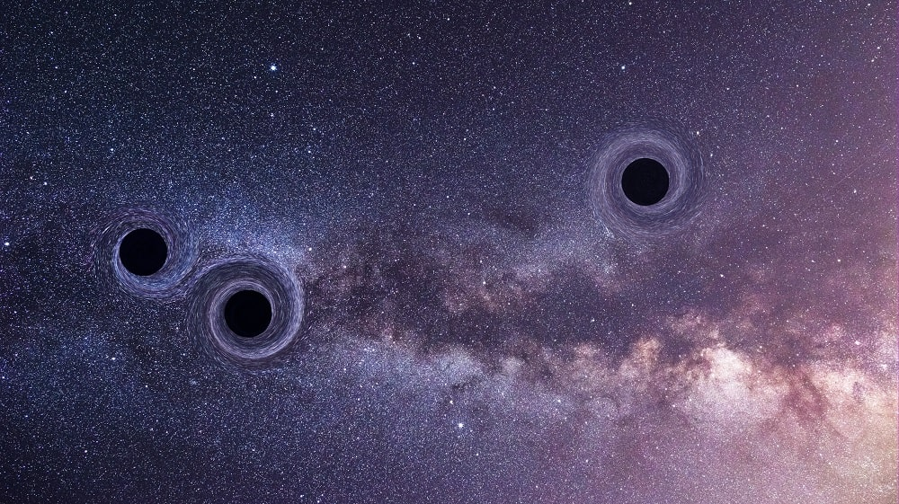 chaos trous noirs