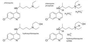 dérivés molécule chloroquine