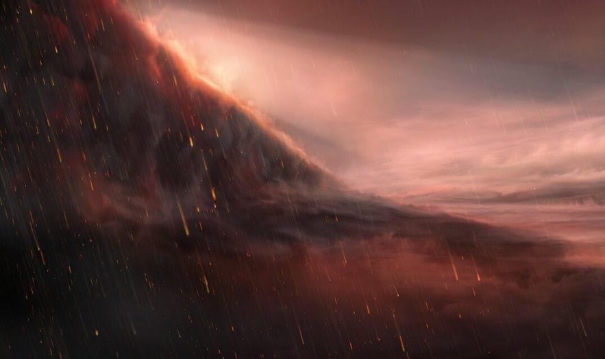 exoplanete pluie fer