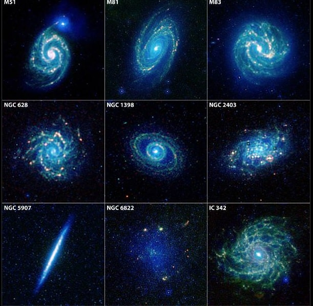 formes galaxies