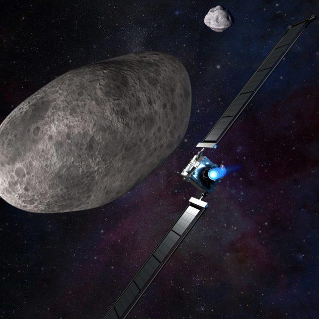 mission DART moteur ionique