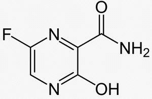 molécule de favipiravir