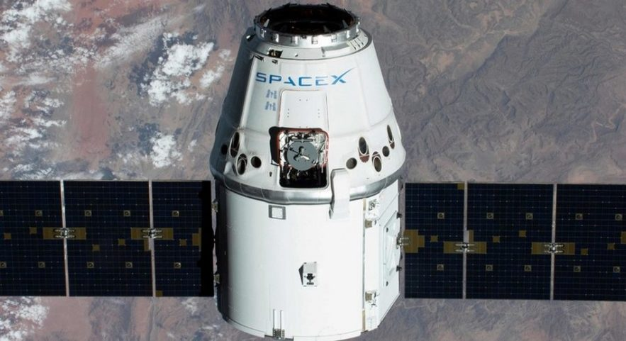 iss station spatiale space x