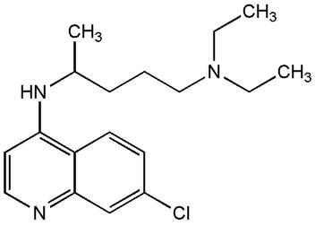 structure chloroquine