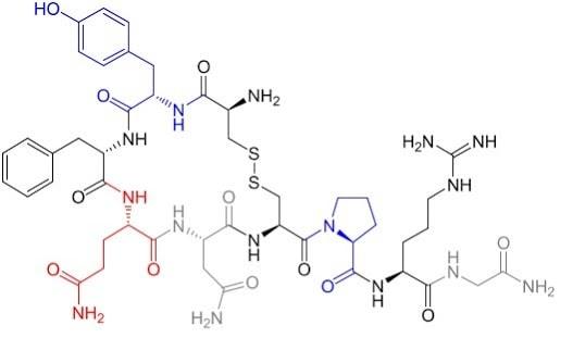 structure vasopressine