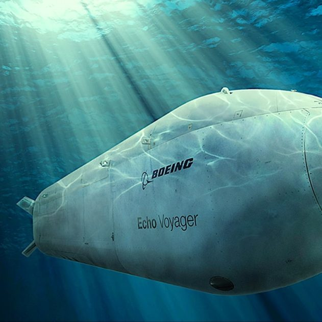 us navy boeing sous-marin intelligent autonome elimination cibles