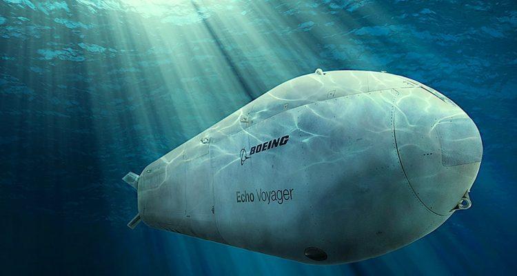 us navy boeing sous-marin intelligent autonome elimination cibles