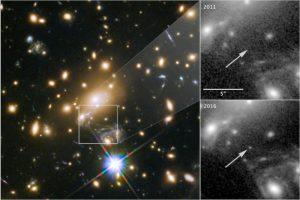 télescope hubble anniversaire étoile icare
