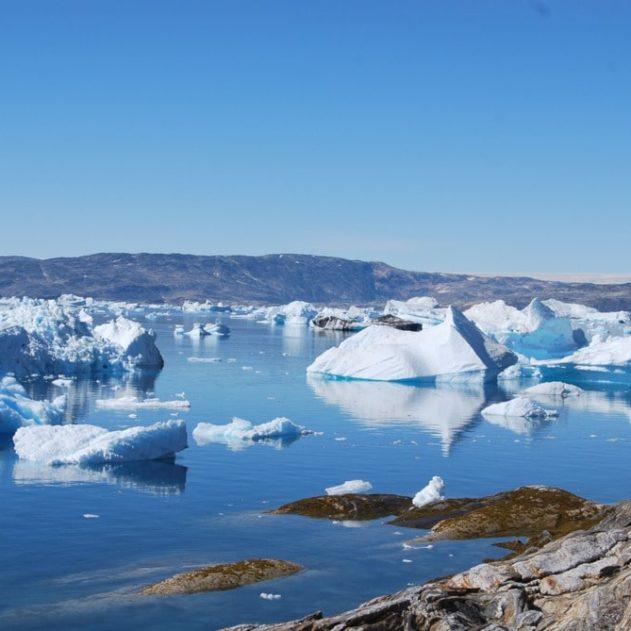 accélération fonte glaces Groenland