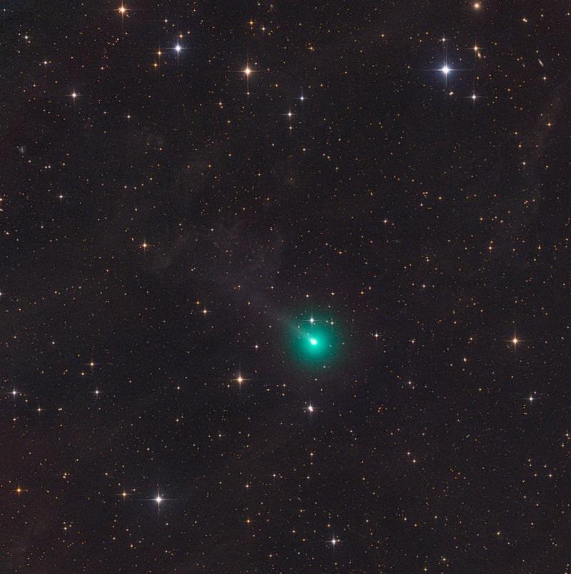 comète ATLAS observation Terre