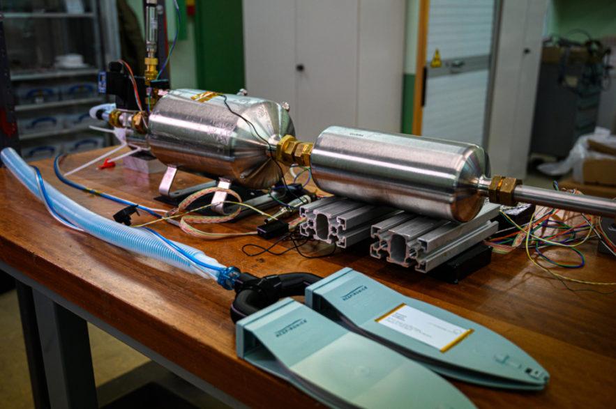 covid-19 respirateur HEV CERN