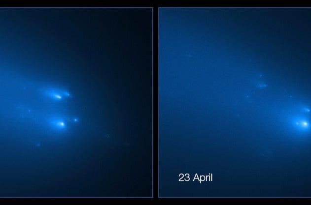fragmentation comète ATLAS