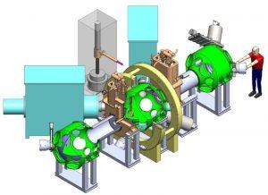 schéma miroir magnétique étude plasmas