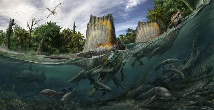 spinosaurus eau