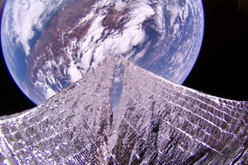 LightSail 2 Chili vue Terre