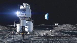 atterrisseur blue origin mission artemis NASA
