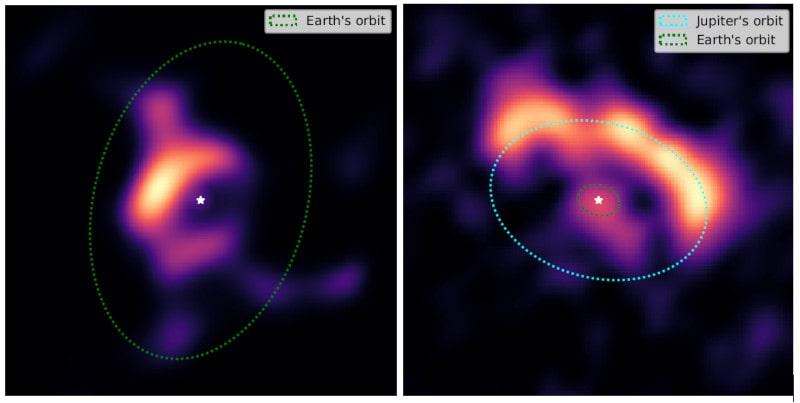 disques formation planètes interféromètre